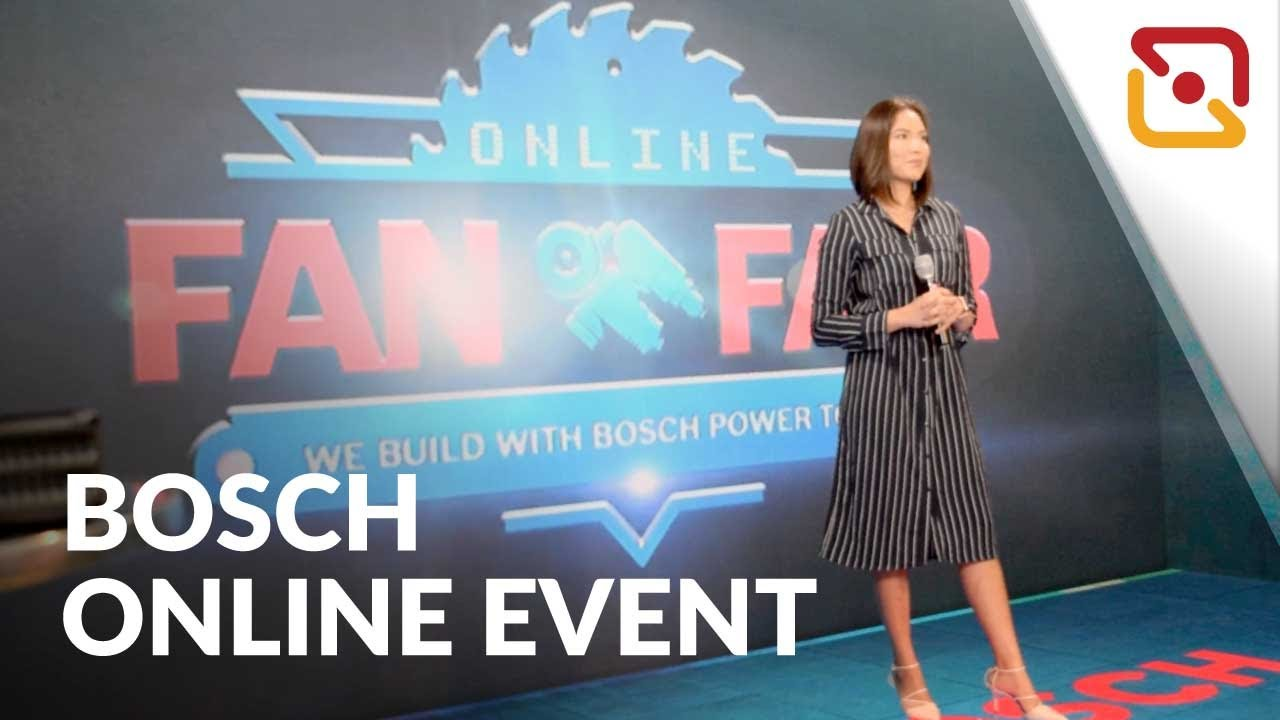 Bosch Fan Fair 2020 - Powered by AVO Studio!