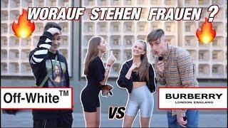 🔥🔥- GIRLS BEWERTEN UNS !! 🔥🔥  OFF-WHITE vs BURBERRY