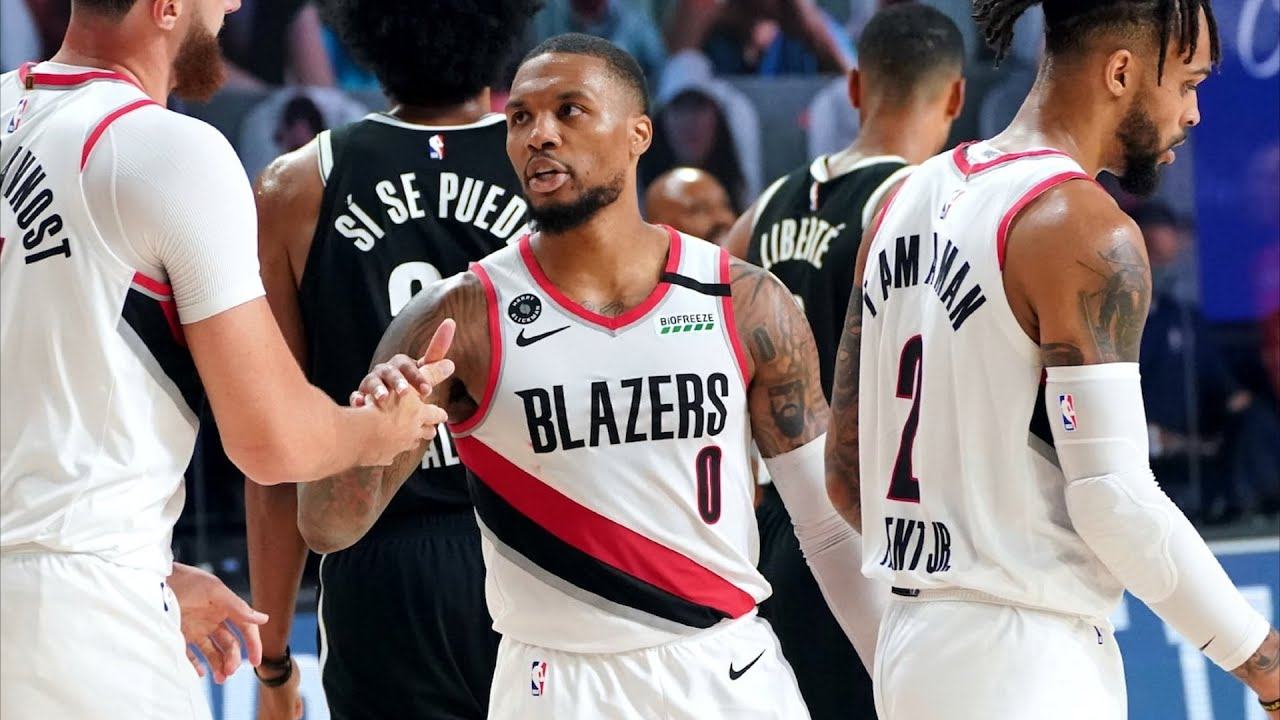 Lillard 42 Pts! LeVert Misses Game Winner! 2020 NBA Restart