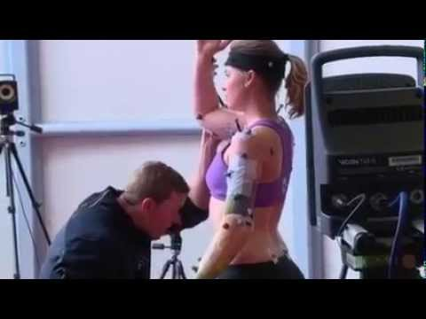 Mike Barber javelin throw coach with 3D motion capture technology