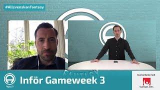FanTV Allsvenskan Fantasy: Gameweek 3