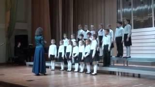 Хор 1-х классов ДШИ ''Вдохновение'' на Фестивале хоровых коллективов ЗАО