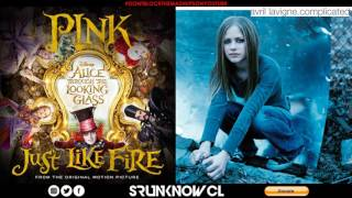 "P!nk vs. Avril Lavigne - ""Complicated Like Fire"" (Mashup)"