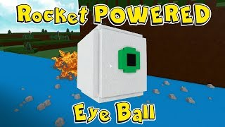 Rocket Powered Eye Ball In Build A Boat For Treasure In Roblox