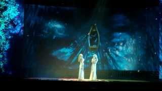 Ирина Нельсон и Reflex - Я буду небом твоим (репетиция, Кремль,