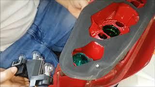Réparer phare 307 HDI