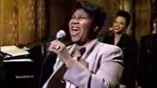 Aretha Franklin - A Deeper Love (Live on Letterman)