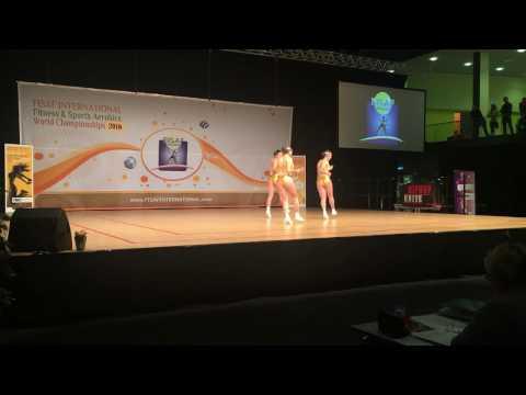 FISAF World Championships 2016 - Australia EKB Senior Trio