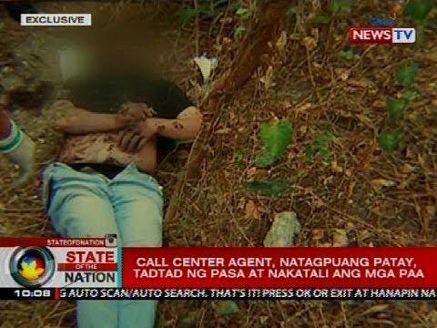 SONA: Call center agent, natagpuang patay, tadtad ng pasa at nakatali ang mga paa