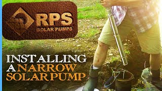 """RPS Pioneers Episode 1 • Solar Pump Backup Install with Narrow 2"""" Solar Pump Along AC Well Pump"""