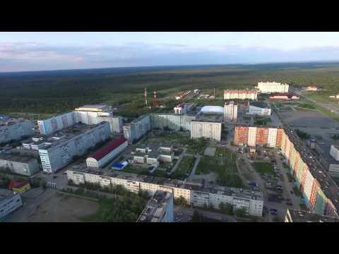 Усинск. Съемка с воздуха 2