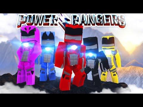 THE POWER RANGERS MOVIE - Minecraft Adventure