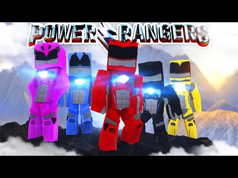 THE POWER RANGERS MOVIE - Minecraft Adventure - Видео из Майнкрафт (Minecraft)