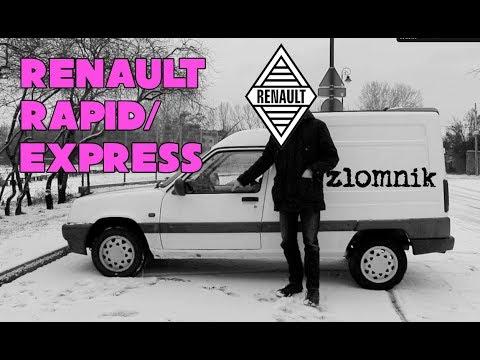 Złomnik: Renault Rapid/Express, Czyli Co Ciekawego Ludzie Wyrzucają