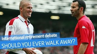 Debate: Should you ever retire from international football? | Saturday Morning Savage