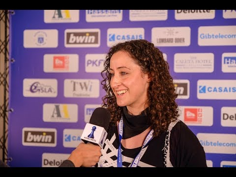 Round 1 Gibraltar Chess post-game interview with Anita Gara