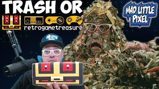 Trash Or Retro Game Treasure? Mystery Game Unboxing!