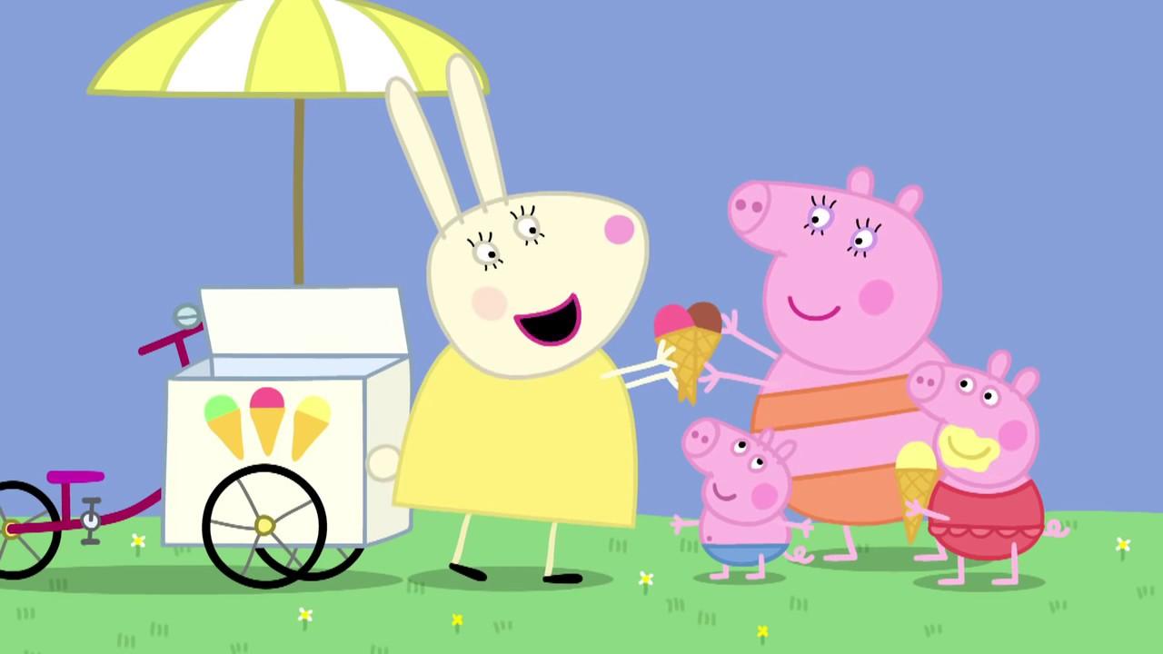 粉紅豬小妹(小豬佩奇) S01E40【Very Hot Day 】 Peppa Pig (中文普通話—高清HD) - YouTube