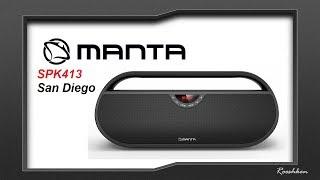 Manta San Diego SPK413 - Głośnik BT z radiem w cenie poniżej 200 złotych