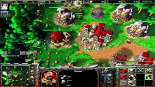 Warcraft 3 FFA за людей против некромантов
