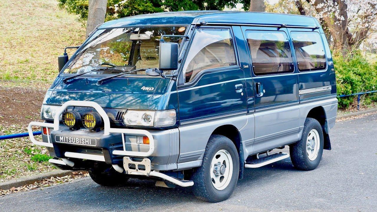 1992 Mitsubishi Delica Turbo Diesel 4x4 Minivan (USA