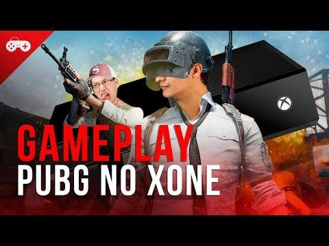 Será que PUBG roda mal mesmo no Xbox One também? Vem ver no nosso gameplay AO VIVO!