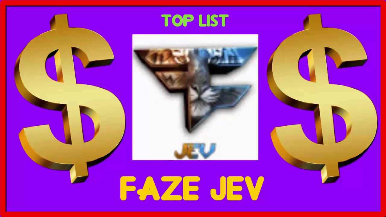 How Much Faze Jev Made Money On Youtube In February 2016 Youtube