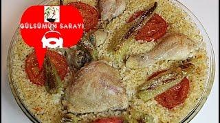 Tavuk kapama / firinda pirincli tavuk / kapama tarifi / Gülsümün Sarayi
