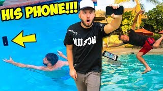 One of Woody & Kleiny's most viewed videos: CATCH YOUR PHONE CHALLENGE!!! (we did this for 2 years)