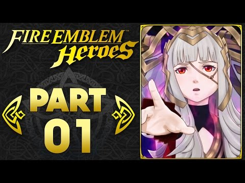 Fire Emblem Heroes - Part 1 | A Mobile Strategy RPG Begins! [Android & IOS Gameplay]