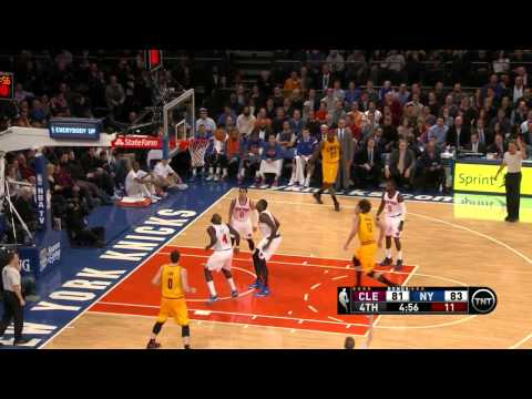 Mike Miller (CLE) suffered concussion vs NYK 04.12.2014