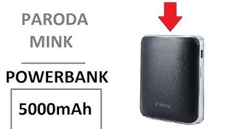 Paroda Mink 5000mAh Power Bank Unboxing and Quick Review | Powerbank in Pakistan