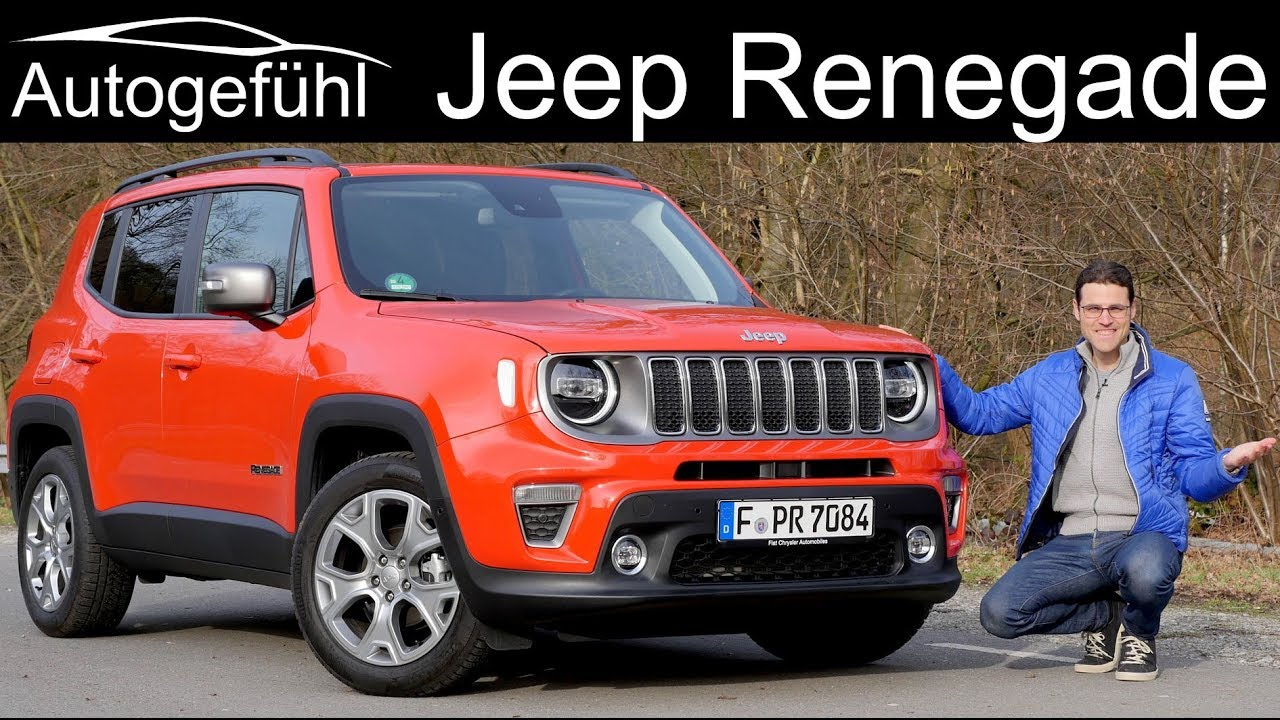 New Jeep Renegade >> Jeep Renegade Facelift FULL REVIEW 2020 - Autogefühl - YouTube