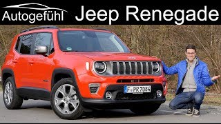 Jeep Renegade Facelift FULL REVIEW 2020 - Autogefühl