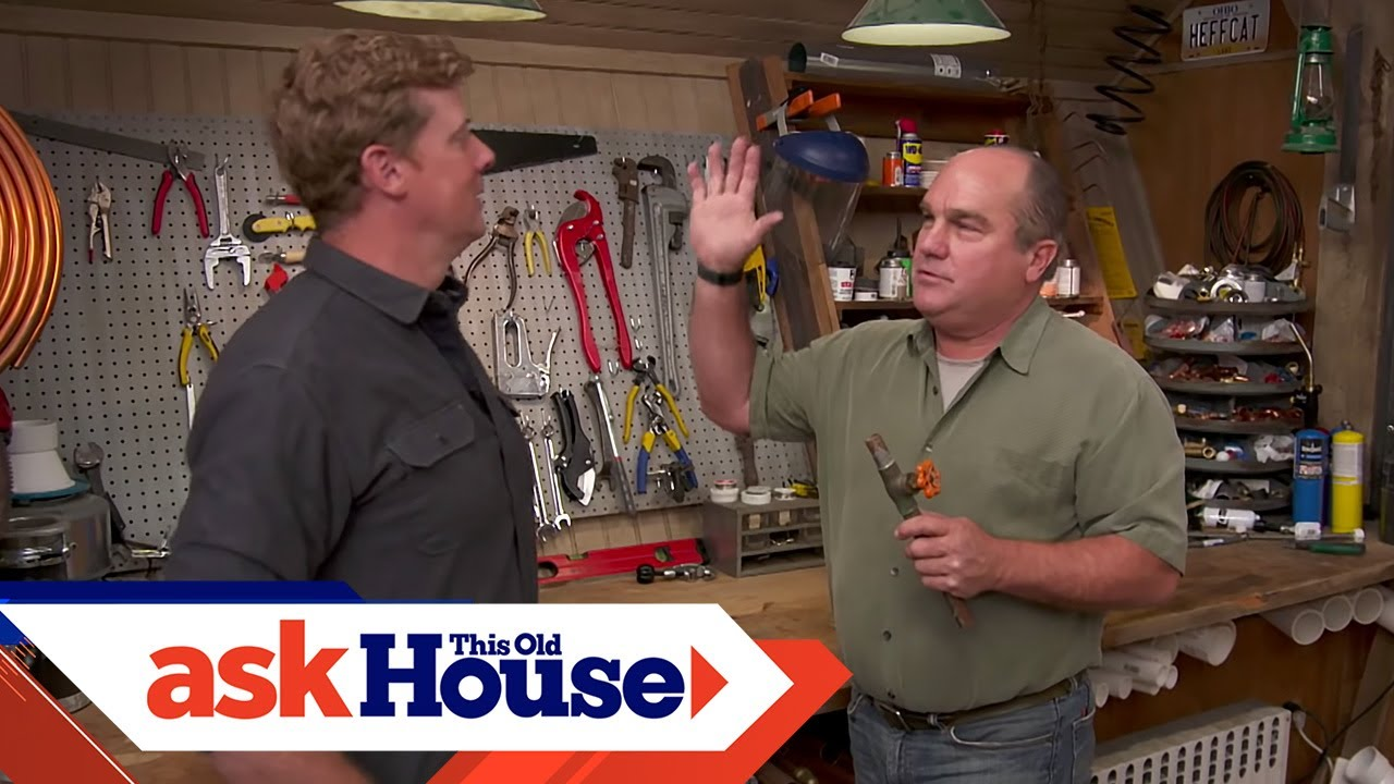 How to Repair a Damaged Main Shutoff Valve | Ask This Old House