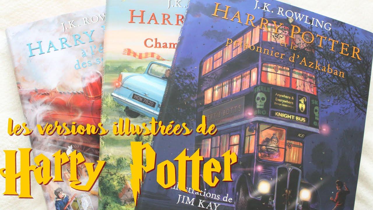 Harry Potter Les Trois Premiers Tomes Illustres