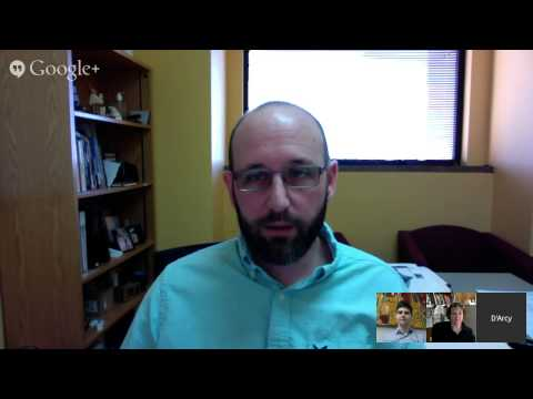 Introduction to Learning Technologies Week 9 Hangout with D'Arcy Norman