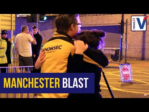 WATCH: Moment explosion is heard at Ariana Grande concert