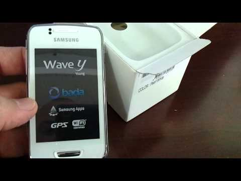 SAMSUNG S5380D WAVE Y Unboxing Video - Phone in Stock at www.welectronics.com