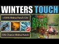 New Chilling Touch + One Shot Walrus PUNCH! & ES Totem Combo [Winters touch] Dota 2 Ability Draft