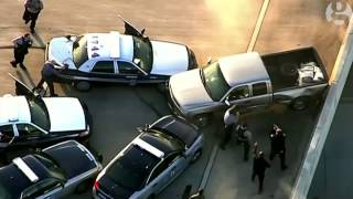 Police chase in Virginia ends with three police officers injured