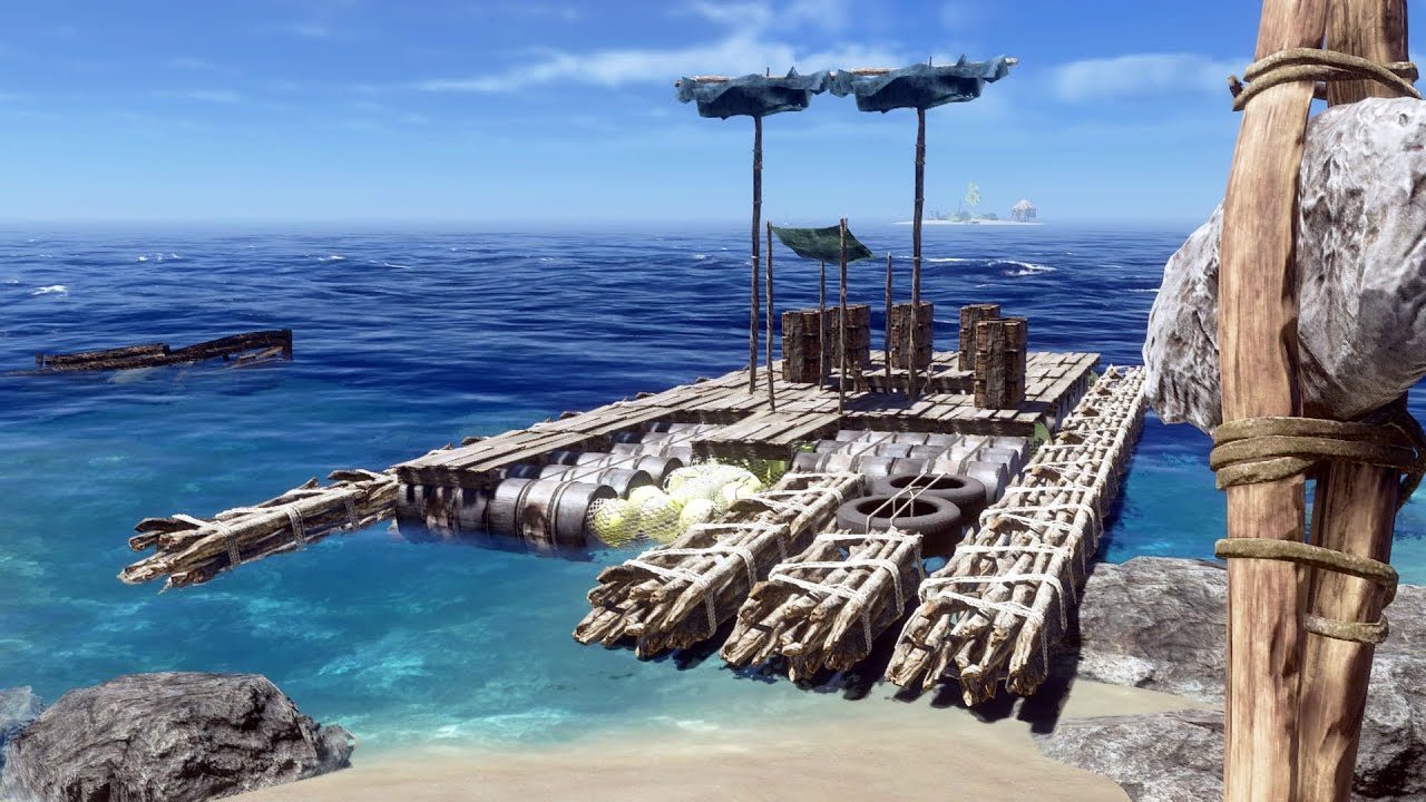 Destrozo Una Isla Para Crear Una Balsa Super Grande | #15 Stranded Deep