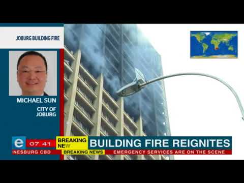 More reaction from the Joburg building fire