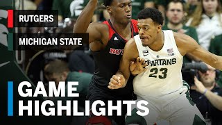 Highlights: Rutgers at Michigan State | Cassius Winston Goes Off in 2nd Half | Big Ten Basketball