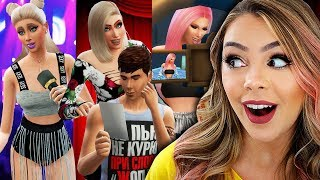 FAMÍLIA DE CELEBRIDADES! 🤩🔥 The Sims 4 RUMO À FAMA - Ep 03