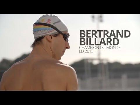 Triathlon : portrait de Bertrand BILLARD, Champion du Monde Longue Distance 2013 et 2014