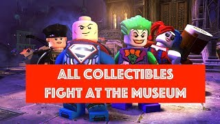 Lego DC Super Villains Fight at the Museum Free Play 100% all Minikits and Collectibles