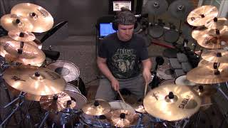 Genesis - In The Cage Drum Cover