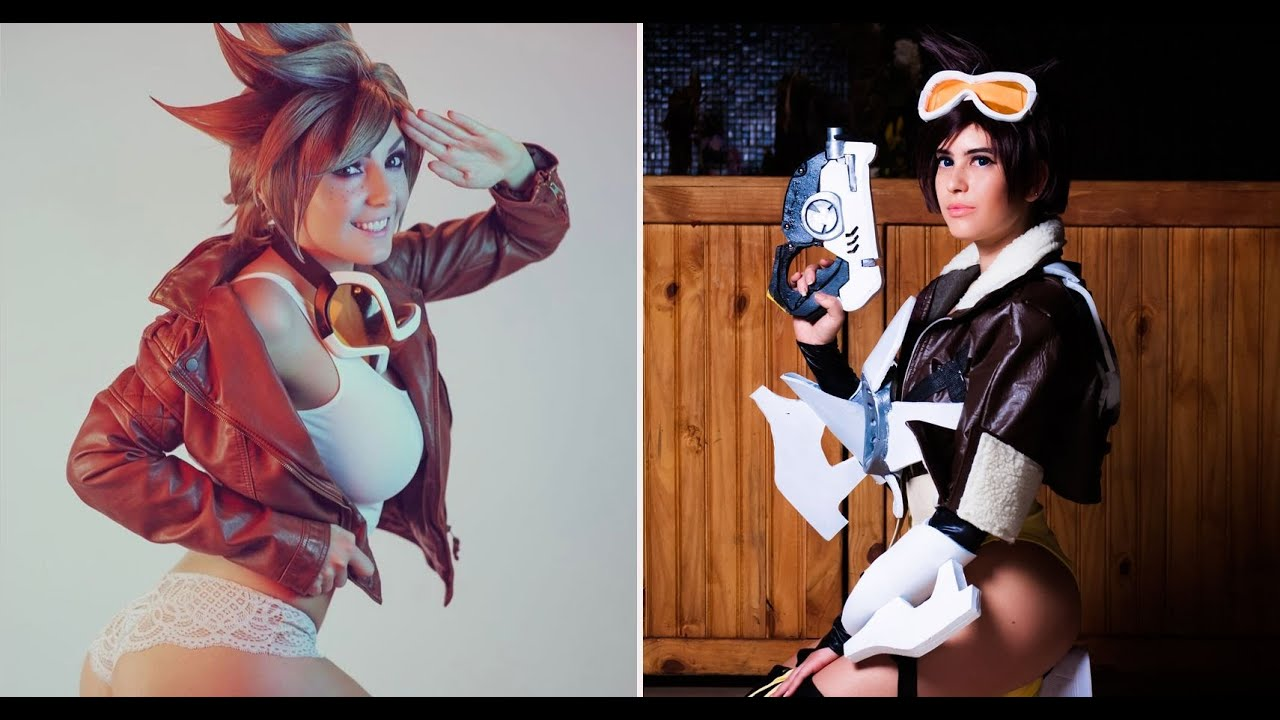 Hot tracer cosplay Overwatch Cosplay
