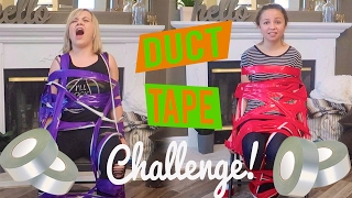 CRAZY DUCT TAPE CHALLENGE W MATTIE FAITH
